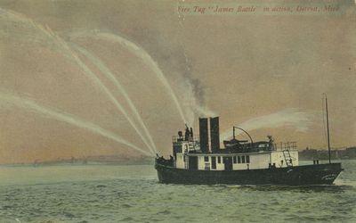 BATTLE, JAMES (1900, Tug (Towboat))