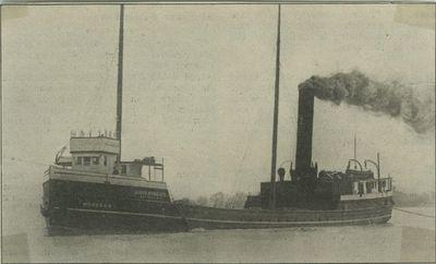 MOHEGAN (1894, Steambarge)