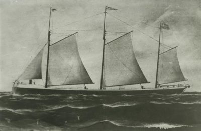 BECKER, WILLIAM D. (1892, Schooner)