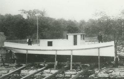 DOW, NEAL H. (1889, Fish Tug)