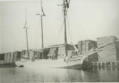 STOCKBRIDGE, F. B. (1873, Schooner)