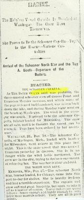 CAPELLA (1850, Schooner)