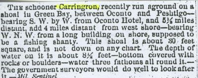 CARRINGTON (1853, Schooner)