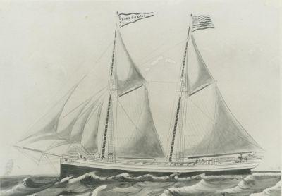 DALL, LINCOLN (1869, Schooner)