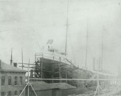 IRON KING (1887, Bulk Freighter)