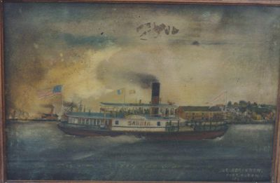 SARNIA (1860, Ferry)