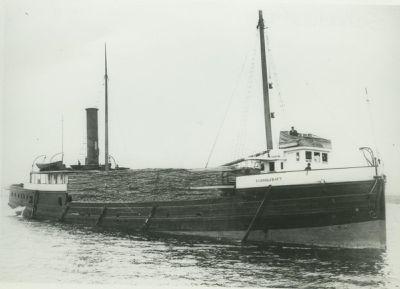SCHOOLCRAFT (1884, Steambarge)