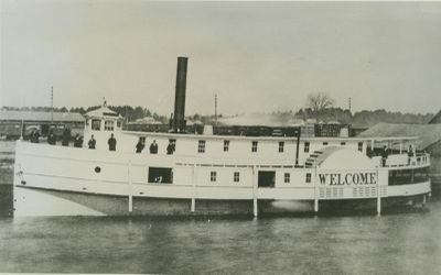 WELCOME (1878, Steamer)