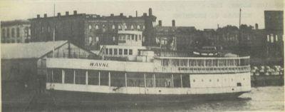 WAYNE (1923, Passenger Steamer)