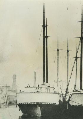 LATHROP, S.H. (1856, Schooner)