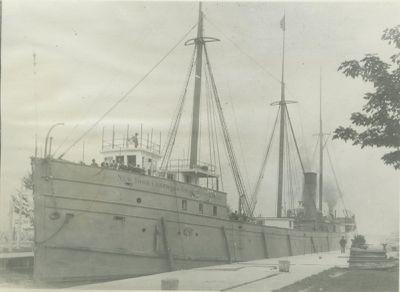 LIVINGSTONE (1889, Bulk Freighter)
