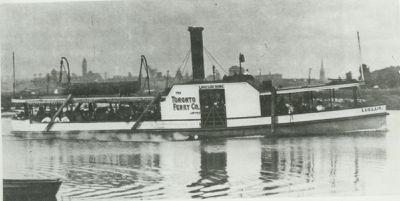 LUELLA (1880, Ferry)
