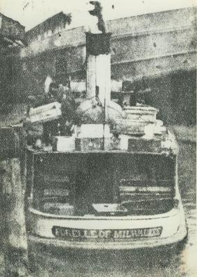 FORELLE (1908, Fish Tug)