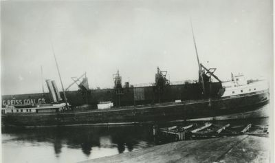 FOSTER, PARKS (1889, Bulk Freighter)