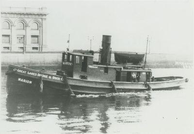 MARION (1898, Tug (Towboat))