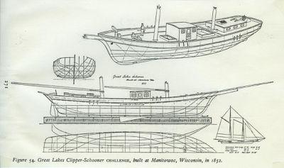 CHALLENGE (1852, Schooner)