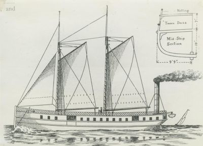 CHICAGO (1842, Propeller)