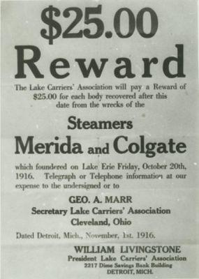 MERIDA (1893, Bulk Freighter)