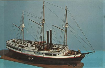 MICHIGAN (1833, Steamer)
