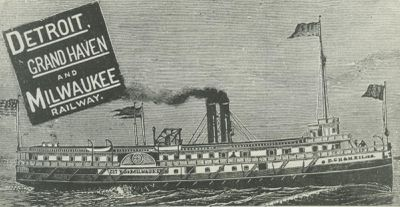 CITY OF MILWAUKEE (1881, Steamer)