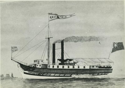 GREAT BRITAIN (1830, Steamer)