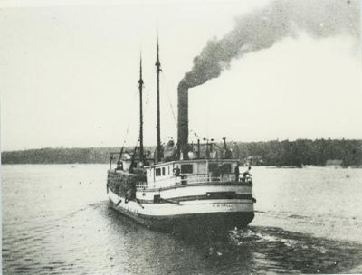 HALL, W.B. (1885, Steambarge)