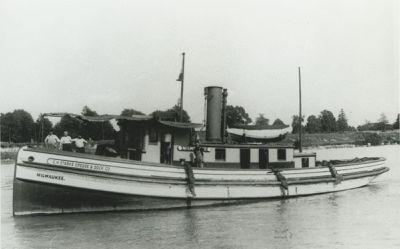 MILWAUKEE (1889, Tug (Towboat))
