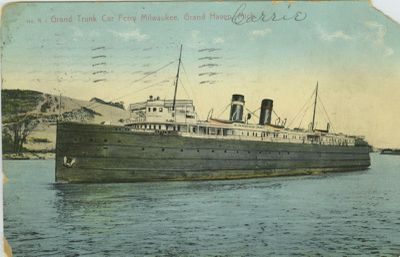 MANISTIQUE, MARQUETTE & NORTHERN NO. 1 (1903, Car Ferry (Rail Ferry))