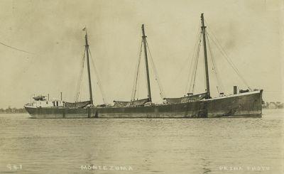 MONTEZUMA (1903, Schooner)
