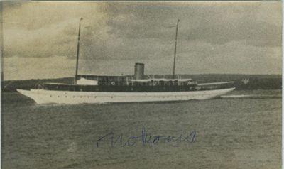 NOKOMIS (1917, Yacht)