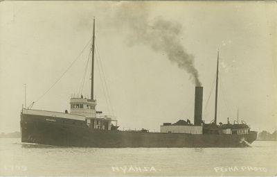 NYANZA (1890, Bulk Freighter)