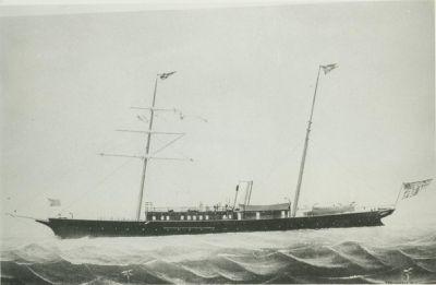 COMANCHE (1891 - 92, Yacht)