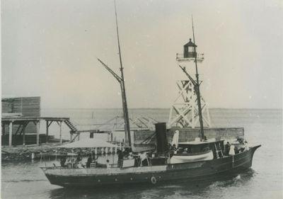 HINDA (1886, Yacht)