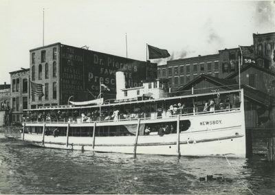 NEWS BOY (1889, Passenger Steamer)