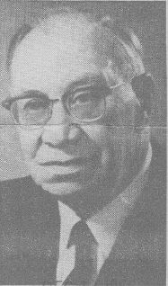 Carl Henry at Rotary Club