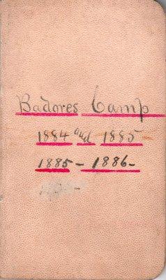 Badore Lumber Camp Account Ledger, 1884 - 1886