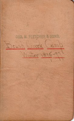 Brush Creek Lumber Camp Account Ledger, 1896-1897