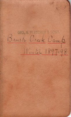Brush Creek Lumber Camp Account Ledger, 1897-1898