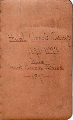 Hunt Creek Lumber Camp Account Ledger, 1891-1892