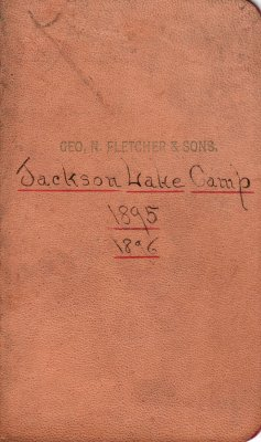 Jackson Lake Lumber Camp Account Ledger, 1895-1896