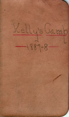 Kelly Lumber Camp Account Ledger, 1887-1888