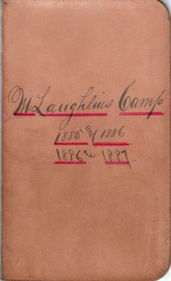 McLaughlin Lumber Camp Account Ledger, 1885-1887