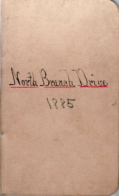 North Branch Drive Lumber Camp Account Ledger, 1885
