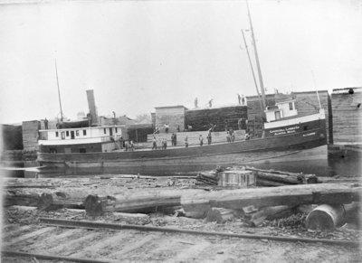 Churchill Lumber Company Vessel W.J. CARTER