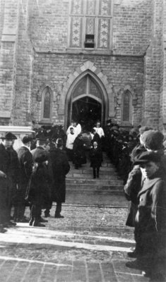 Funeral for Reverend Thomas D. Flannery