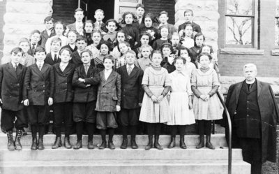 St. Bernard's Church School Students