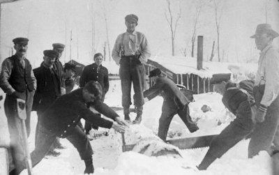 Fletcher Lumber Camp Cutting Contest