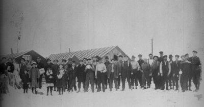 Fletcher Lumber Camp Crew