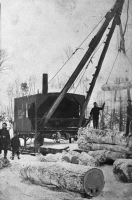 Railroad Jammer / Log Loader