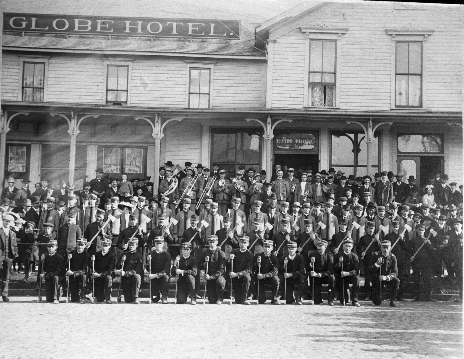 Woodman Degree Team at Globe Hotel
